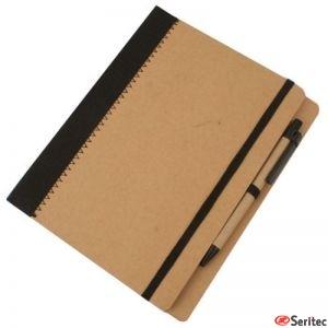 Cuaderno A5 Cartón Reciclado