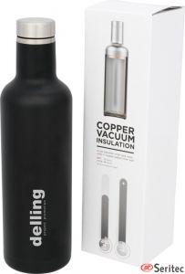 Botella customizada con aislamiento de cobre