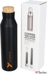 Botella publicitaria con aislamiento de cobre