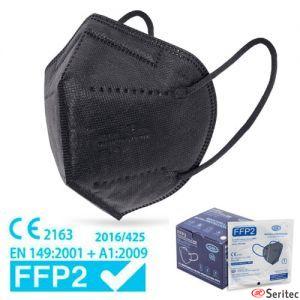 Mascarillas FFP2 certificadas negras y de colores