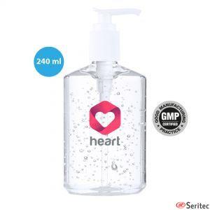 Gel higienizante dosificador rellenable 240 ml