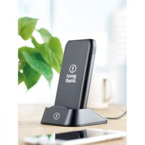 Power bank publicitaria inalámbrico. Cargador wireless
