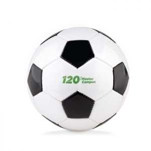 Pequeño balón publicitario de futbol
