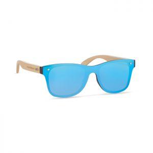 Gafas de sol publicitarias patillas bambú