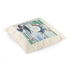 Cojín personalizable de algodón sublimación