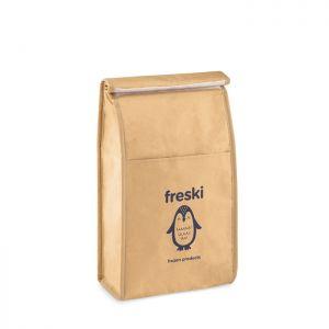 Porta bocadillos personalizable de papel woven