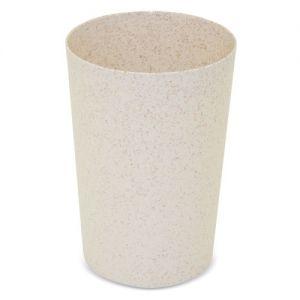 Vaso de fibra de trigo publicitario