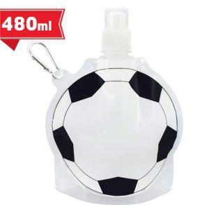 Bidón plegable en forma de balón publicitario