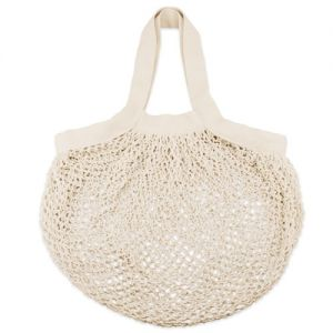 Bolsa de red de algodón ideal para frutas y verduras