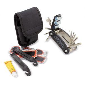 Set de emergencia para reparación de bicicletas
