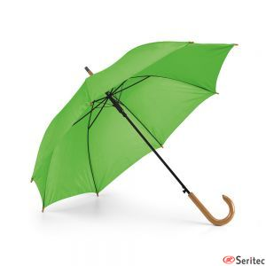 Paraguas de madera automáticos personalizados