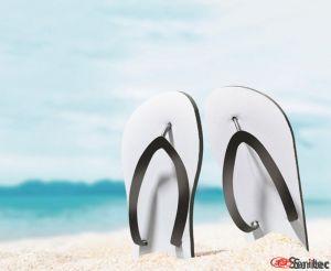Chanclas playa sublimación publicitarias