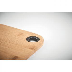 Tabla de cortar de bambú promocional