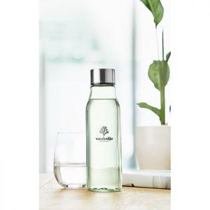 Botella de cristal 500ml publicitaria