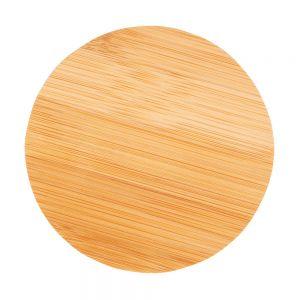 Posavasos publicitario de bambú