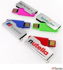 Memoria usb publicitaria disponible en 4 colores