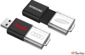 USB corredizo Led acrílico publicitario