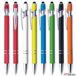 Bolígrafo antibacteriano publicitario colores