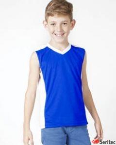 Camiseta infnatil sin mangas personalizable