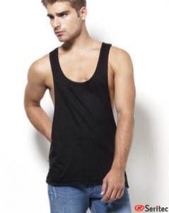 Camiseta hombre tirantes personalizable