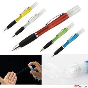 Bolígrafo con difusor para hidrogel publicitario