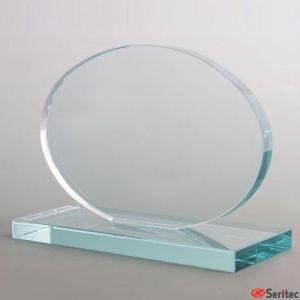 Vidrio Forma Ovalada