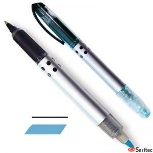 Roller + marcador azul