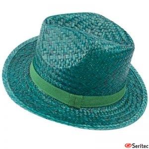 Sombrero Paja con cinta personalizada