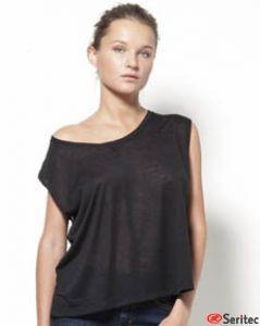 Camiseta mujer sin mangas personalizable