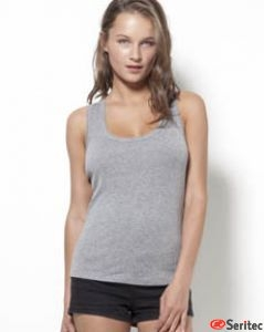 Camiseta mujer tirantes personalizable