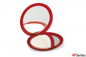 Espejo doble redondo