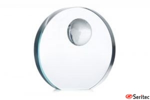 Trofeo esfera cristal