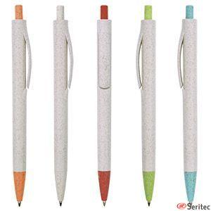 Bolígrafo de caña de trigo publicitario