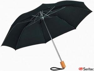 Paraguas plegable 2-secciones con logo