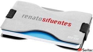 Tarjetero personalizado con la tecnología RFID