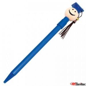 Bolígrafo con forma estudiante publicitario