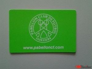 Carnet socio para clubes deportivos.Personalizados.