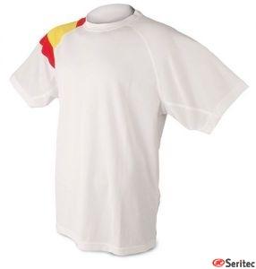 Camisetas dry & fresh bandera personalizadas