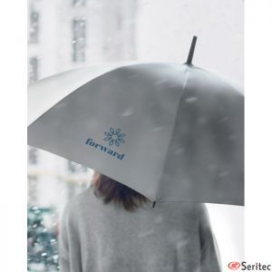 Paraguas altamente reflectante publicitario