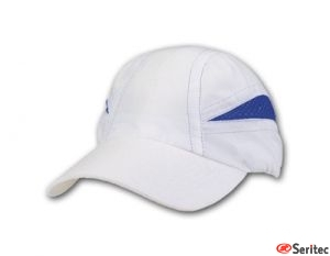 Gorra personalizable deportiva de microfibra para eventos deportivos