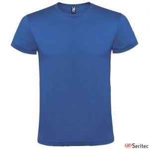 Camiseta algodón colores serigrafiada