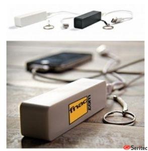 Batería externa cargador usb emergencia 2000 mAh. Personalizada