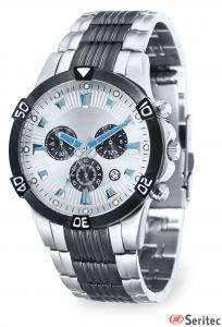 Reloj de acero inoxidable personalizado