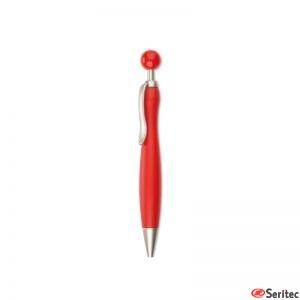 Bolígrafo con pelota
