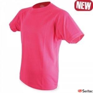 Camisetas de poliéster fácil secado personalizadas