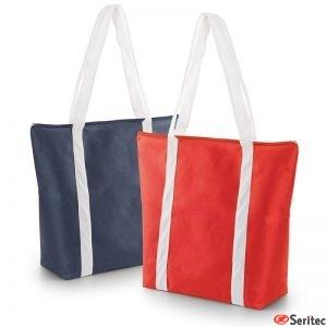Bolsas con cremallera playa-shopping-paseo personalizadas