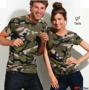 Camisetas camuflaje personalizadas