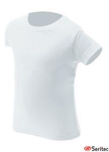 Camiseta manga corta niños personalizable