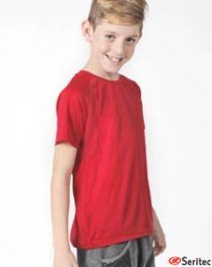 Camiseta manga corta niño personalizable