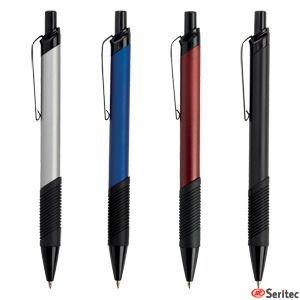 Bolígrafo personalizado de aluminio con pulsador